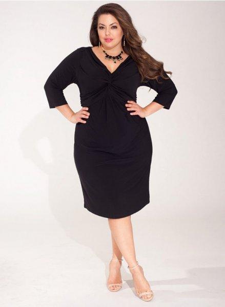 620ce5b323 Homokóra-alakú hölgyeknek tökéletes választás 4555 Ft-ért a következő ruha.  L-3XL méretben kapható, szerintem szép és klasszikus a formája, munkahelyre  is ...
